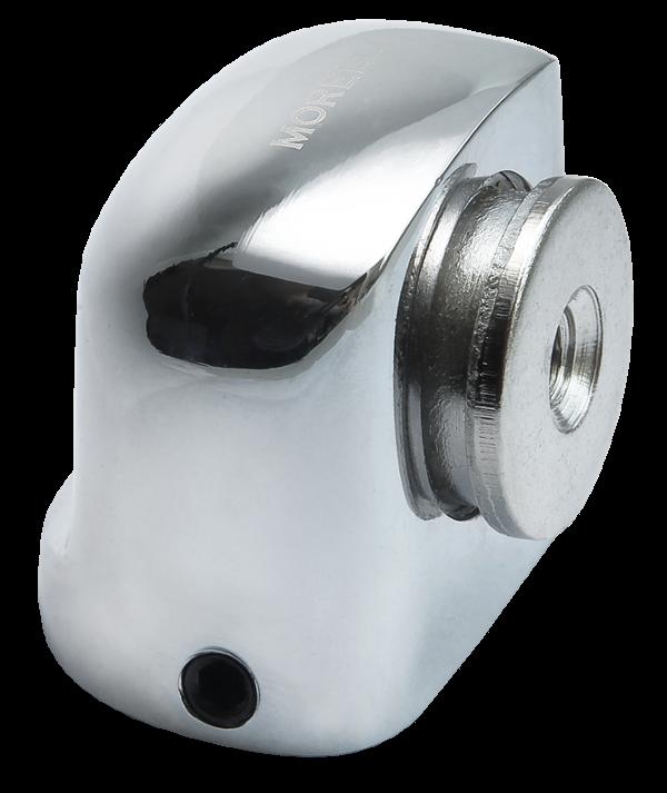 Стопор магнитный MORELLI - белый никель
