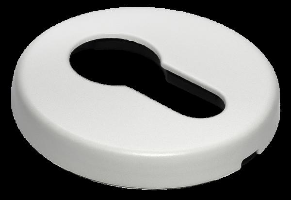 Накладки на ключевой цилиндр морелли люкс белый