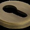 Накладки на ключевой цилиндр морелли люкс кофе