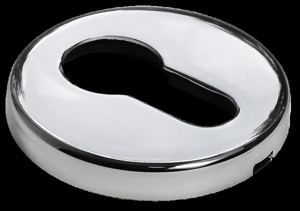 Накладки на ключевой цилиндр морелли люкс хром
