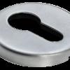 Накладки на ключевой цилиндр морелли люкс матовый хром