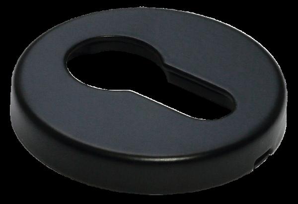Накладки на ключевой цилиндр морелли люкс черный